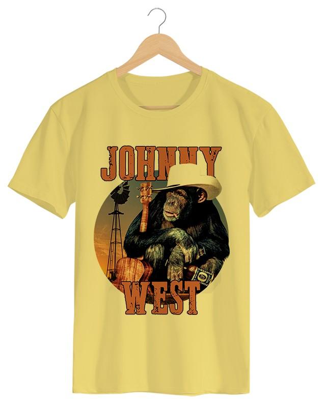 Monkey - Camiseta Masculina Cor em Malha Algodão
